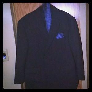 Pinstripe Mens Coat